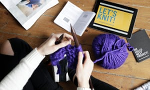 Knit wit: one of Wool and the Gang's how-to videos.