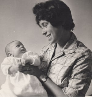Hannah Gavron with baby Jeremy.