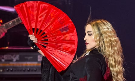'The power, as always, is all hers': Madonna owning the word 'bitch' in Las Vegas this week.
