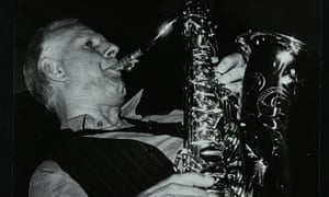 Saxophonist Don Rendell performing at The Bell, Codicote, Hertfordshire, 29 August 1982. .
