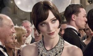 Elizabeth Debicki in The Great Gatsby.