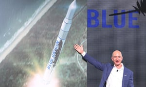 Jeff Bezos reveals Blue Origin rocket