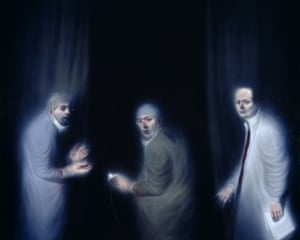Three Oncologists by Ken Currie