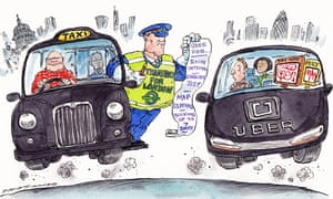TfL's attempt to regulate Uber seems like an attempt to protect black cabs.