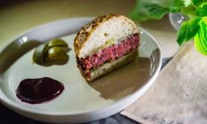 Dan Barber burger