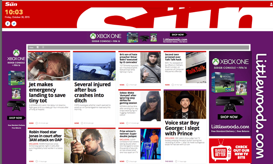 The Sun website: taking on sites such as Mail Online by dropping its paywall