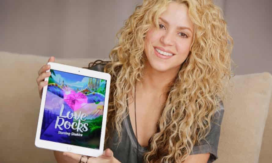 Shakira on Love Rocks: 'In the last 20 years the line between art and technology has blurred'
