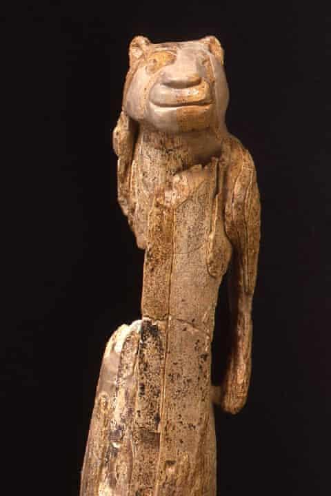LMSTG1a: The Lion Man sculpture - Photo Karl-Heinz Augustin, © UlmerMuseum, Ulm, Germany