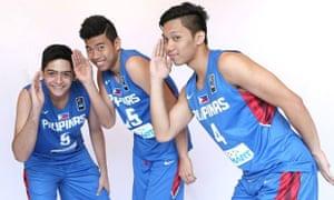 The FIBA Philippines basketball team.