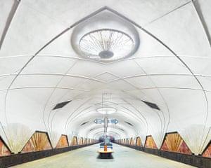 Aeroport metro station, Moscow