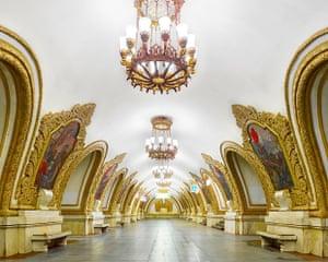 Kiyevskaya Metro Station (east), Moscow