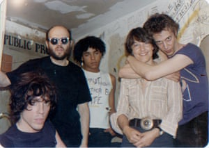 Bettie Ringma with Richard Hell and the Voidoids