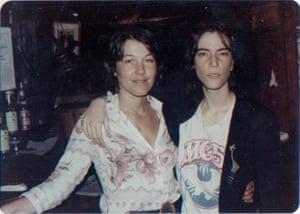 Bettie Ringma with Patti Smith