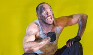 'He touches your heart as he bludgeons': Bertie Carvel in The Hairy Ape.