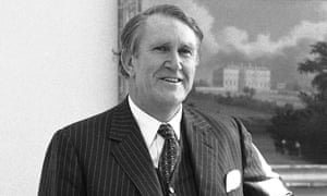 Malcolm Fraser at the White House in Washington in 1980. Fraser's opposition had been stalling on passing supply, which led to the constitutional crisis.