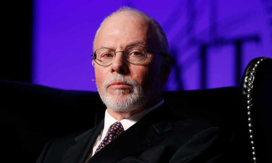 Paul Singer has written to dozens of Republican donors declaring his support for Marco Rubio in a major blow to the struggling campaign of Jeb Bush.