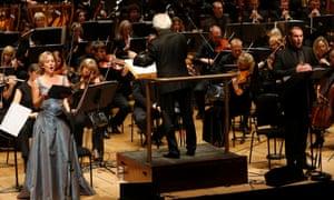 Soprano Marie Arnet, conductor Antoni Wit and baritone Marcus Farnsworth