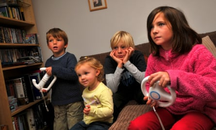 Children playing on the original Wii console. Is it time to retire it and buy something new?