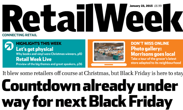 Retail Week: one of the Emap titles moving digital-only