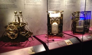 Harrison's sea clocks on display at the National Maritime Museum 2014