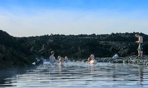 Holuhraun natural baths, Iceland