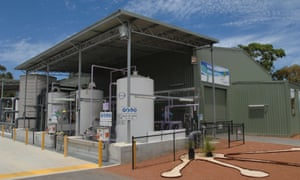 Advanced water recycling plant, Craigie, Perth