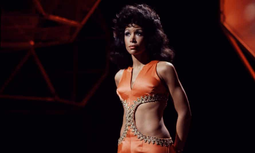 Freda Payne performing on Top of the Pops in 1970.