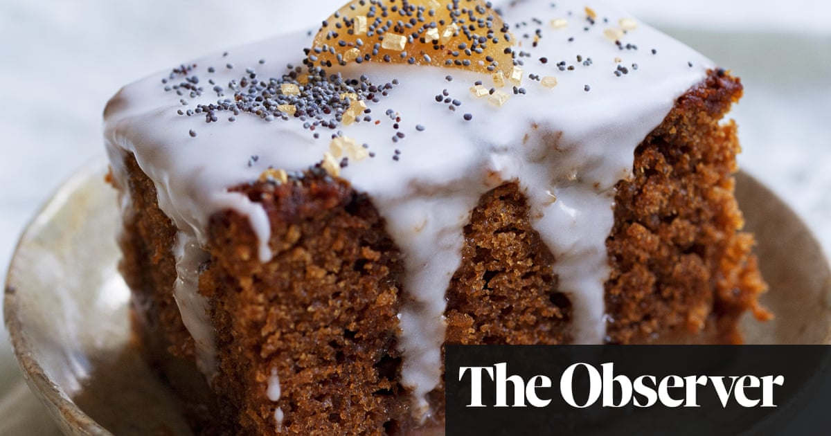 Nigel Slater S Pear And Ginger Cake Baked With Maple Syrup Orange Recipes Food The Guardian