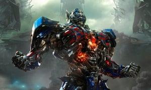 Optimus Prime in Transformers: Age of Extinction.