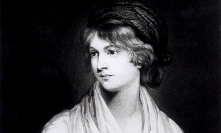 A portrait of Mary Wollstonecraft.