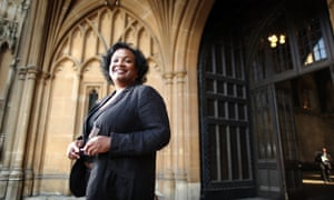 Diane Abbott … new job criticised.
