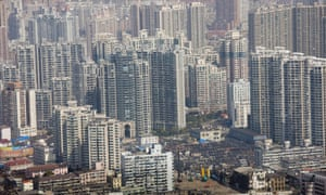 The Shanghai urban area is home to over 23 million people: 119,000 per sq mile in the inner city, way above that of Paris or Manhattan.