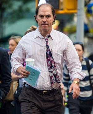 Matthew McConaughey in Gold.