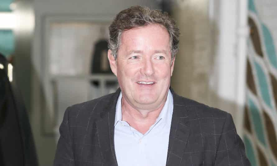 Piers Morgan: closing in on a deal with ITV's Good Morning Britain