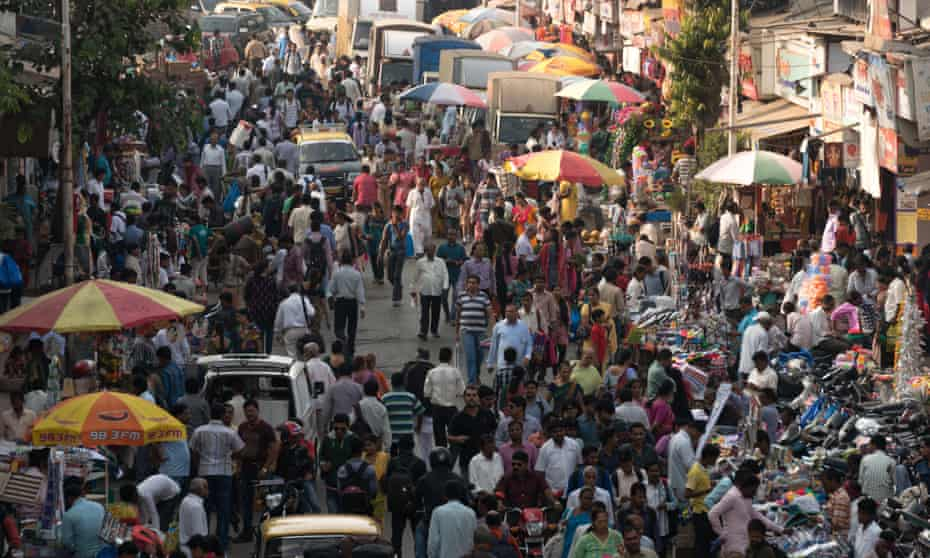 In Mumbai, each person has less than five square metres to call their own.