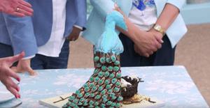Nadiya's chocolate peacock