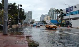 Flooding is a common inconvenience in Miami, America's seventh most stressed-out city.