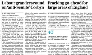 The Daily Telegraph story claiming Jeremy Corbyn had been criticised for being antisemitic