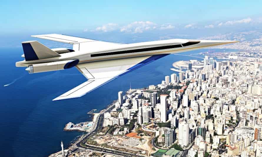 Spike S-512 supersonic passenger jet