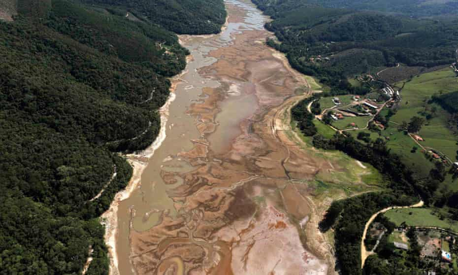 Atibainha dam in Sao Paulo state
