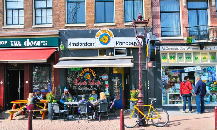 The sweet smell of Amsterdam … and it's not just cannabis