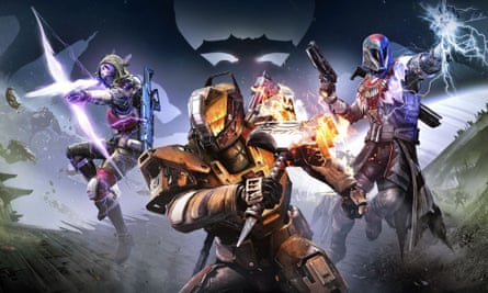 The three classes introduced in Destiny: The Taken King.