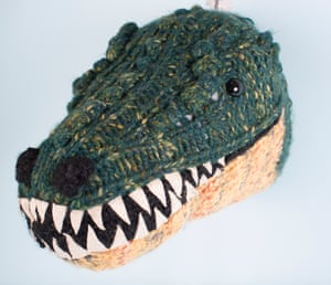 Snappy ... a knitted croc by Sincerely Louise