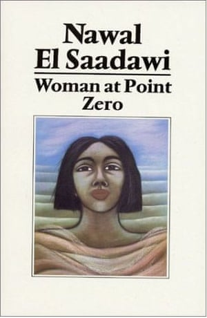 The original book cover for the 1983 translation of El Saadawi's Woman at Point Zero.