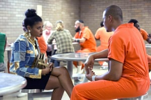 Cookie (Taraji P Henson) and Lucious (Terrence Howard) in season 2 of Empire.