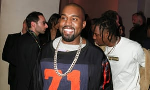 Kanye West at Vogue Paris's 95th birthday party last weekend.