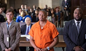 Banged up …Lucious (centre) in Empire.