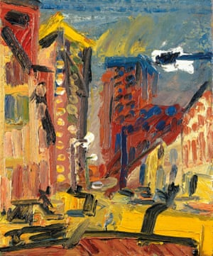 Mornington Crescent Looking South, 1997, by Frank Auerbach.