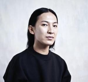 Alexander Wang who has left Balenciaga.