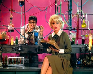 Jerry Lewis and Stella Stevens in The Nutty Professor (1963).